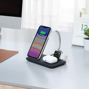 Anker PowerWave 3-in-1 Qi Wireless Charging Station A2579