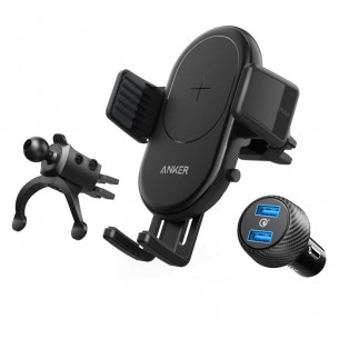Anker PowerDrive 7.5W Car Charger with Air Vent Phone Holder