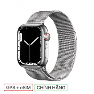 Apple Watch Series 7 GPS+Cellular 41MM Stainless Steel Case