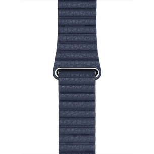 Leather Loop Diver Blue