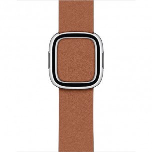 Modern Buckle Saddle Brown