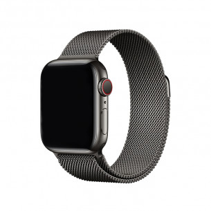 Apple Watch Band Magnetic Stainless Steel Graphite