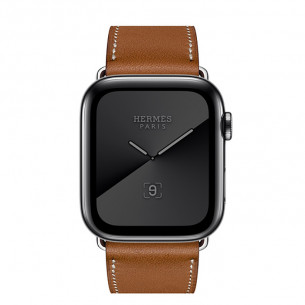 Apple Watch Series 5 Hermès GPS+Cellular Space Black Stainless Steel Case