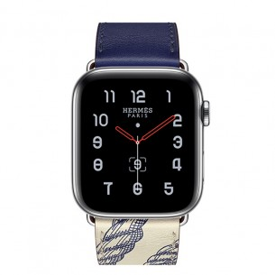 Apple Watch Series 5 Hermès GPS+Cellular Silver Stainless Steel Case