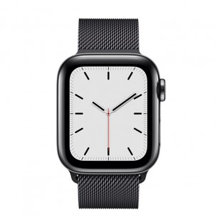 Apple Watch Series 5 GPS+Cellular Space Black Stainless Steel Case