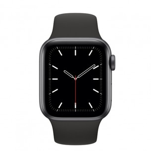 Apple Watch Series 5 GPS 44MM Space Gray Aluminum Case With Black Sport Band
