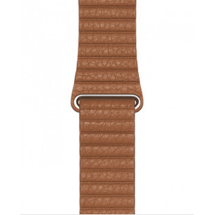 Leather Loop Saddle Brown