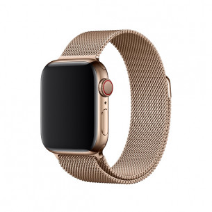 Apple Watch Band Magnetic Stainless Steel Rose Gold