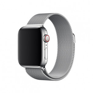 Apple Watch Band Magnetic Stainless Steel Silver